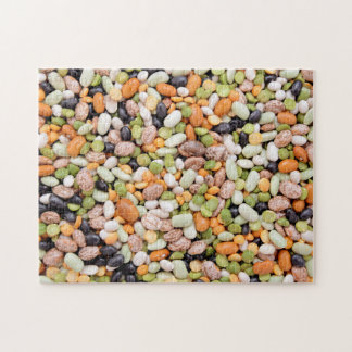 Mixed beans jigsaw puzzle