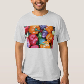 Mixed Bell Peppers Tee Shirts
