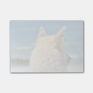 Mixed Breed Dog Sun Sand And Surf Post-it® Notes