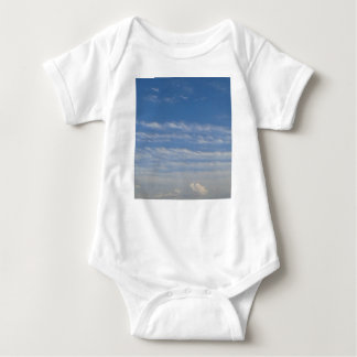 Mixed Clouds Baby Bodysuit