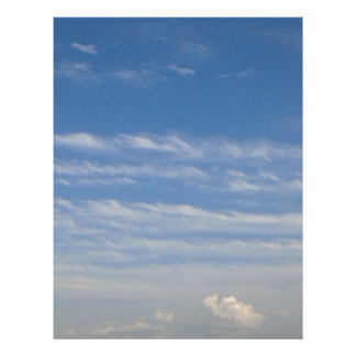 Mixed Clouds Letterhead