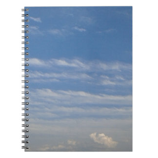Mixed Clouds Notebook
