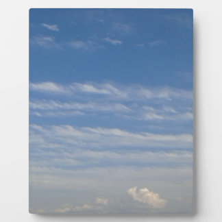 Mixed Clouds Plaque