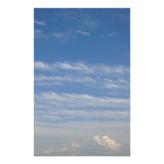 Mixed Clouds Stationery