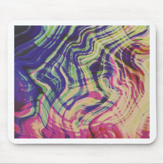 Mixed colors party mouse pad