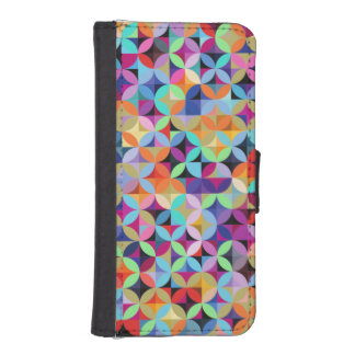 Mixed Colors Phone Wallet Case