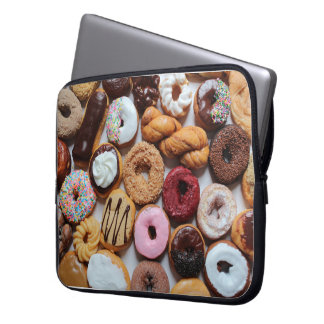 Mixed Donuts laptop sleeve