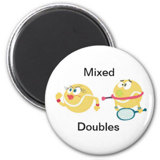 Mixed Doubles Magnet