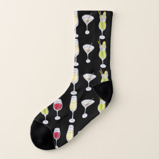 Mixed Drinks Unisex Socks 1