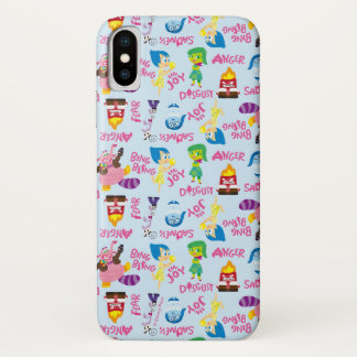 Mixed Emotions Pattern iPhone X Case