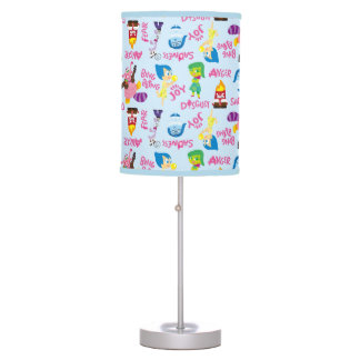 Mixed Emotions Pattern Table Lamp