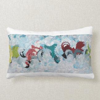 Mixed forms lumbar pillow