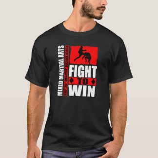 "Mixed Martial Arts - Fight To Win ""Flying Knee"" T T-Shirt"