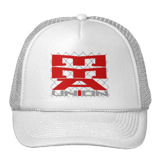 Mixed Martial Arts [MMA] Fighters Union v12 Silver Trucker Hat