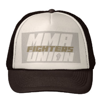 Mixed Martial Arts [MMA] Fighters Union v17, White Trucker Hat