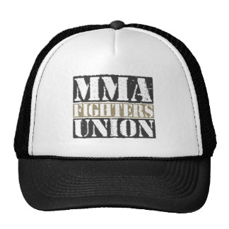 Mixed Martial Arts [MMA] Fighters Union v23, Black Trucker Hat
