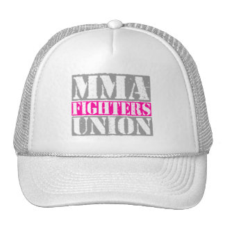 Mixed Martial Arts [MMA] Fighters Union v24 Silver Trucker Hat