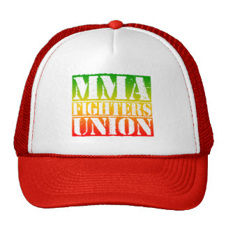 Mixed Martial Arts [MMA] Fighters Union v26, Rasta Trucker Hat