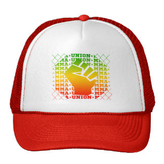 Mixed Martial Arts [MMA] Fighters Union v30, Rasta Trucker Hat
