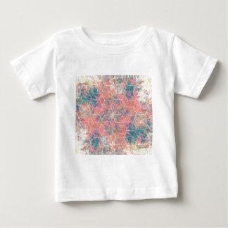 Mixed Media Bird Baby T-Shirt