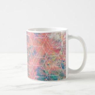 Mixed Media Bird Coffee Mug