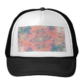 Mixed Media Bird Trucker Hat