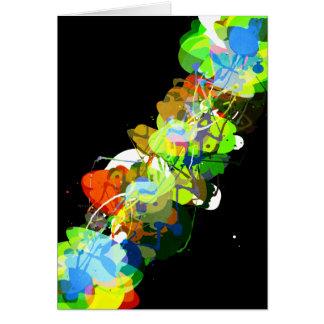 Mixed Media Colors 3 Greeting Card