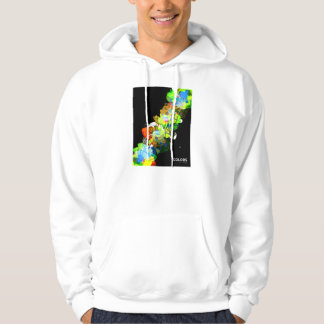 Mixed Media Colors 3 Pullover