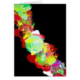 Mixed Media Colors 5 Greeting Card