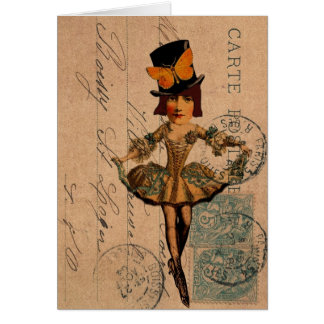 Mixed Media Dollie Card