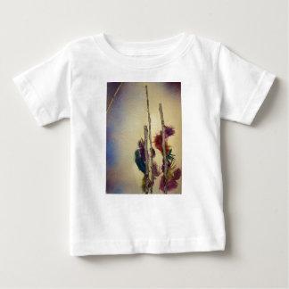 "Mixed media ""feather tree"" mixed media for fun baby T-Shirt"