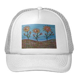 Mixed Media Flower Field Trucker Hat