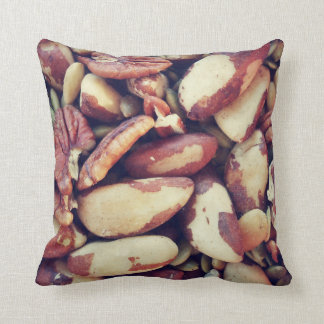 Mixed Nuts Throw Pillow