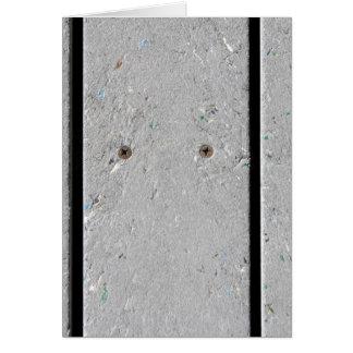 Mixed Plastic Resin Plank Walkway Card