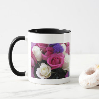 Mixed Roses Photo Mug