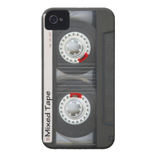 Mixed Tape Cassette iPhone 4 Covers