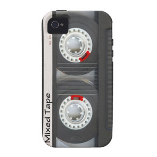 Mixed Tape Cassette Case-Mate iPhone 4 Case