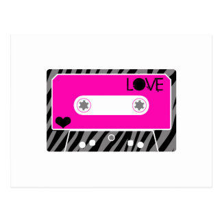 Mixed Tape Love Postcard