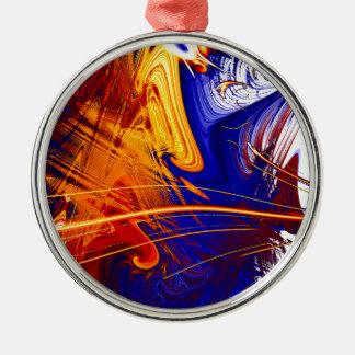 Mixed Up Metal Ornament