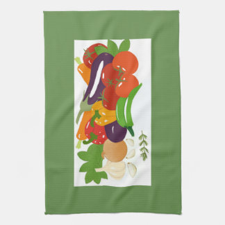 Mixed Vegetables Kitchen Towel