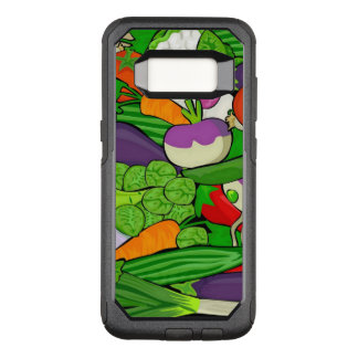 Mixed vegetables OtterBox commuter samsung galaxy s8 case