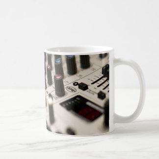 Mixing Board Closeup Classic White Coffee Mug