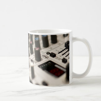 Mixing Board Closeup Coffee Mug