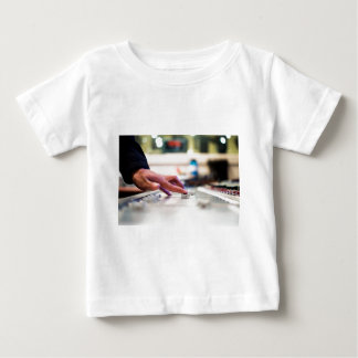 Mixing Desk Mixer Slide Control Slider Disc Jockey Baby T-Shirt