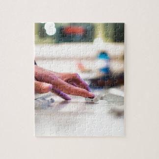 Mixing Desk Mixer Slide Control Slider Disc Jockey Jigsaw Puzzle