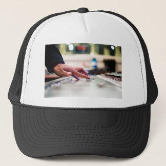 Mixing Desk Mixer Slide Control Slider Disc Jockey Trucker Hat