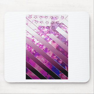 mixing US Flag (Colors). Mouse Pad