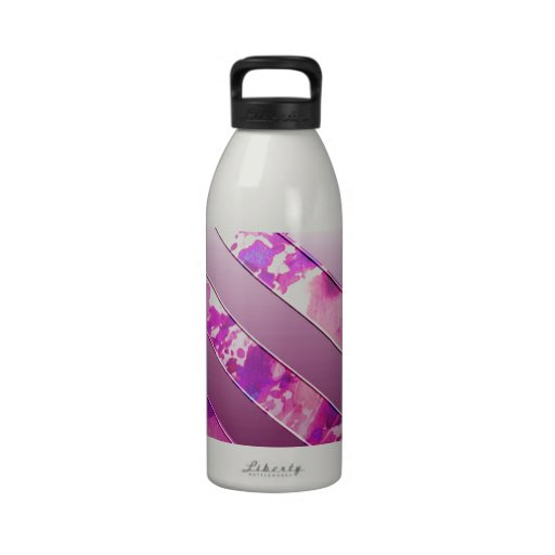 mixing US Flag (Colors). Reusable Water Bottles