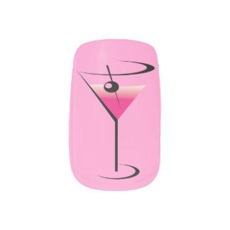 Mixologist or Bartender Martini Glass Minx Nail Art