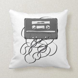Mixtape Throw Pillow